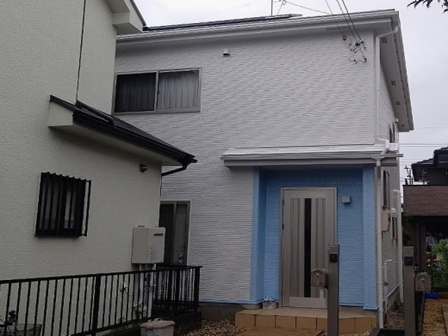 【施工実績552】外壁塗装・屋根塗装:埼玉県坂戸市
