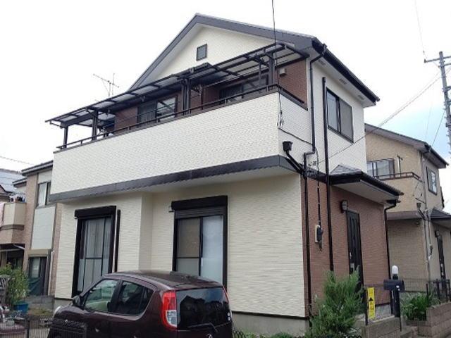 【施工実績555】外壁塗装・屋根塗装:埼玉県上尾市