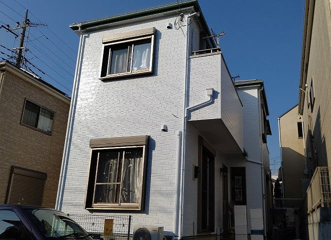 【施工実績559】外壁塗装・屋根塗装:埼玉県所沢市
