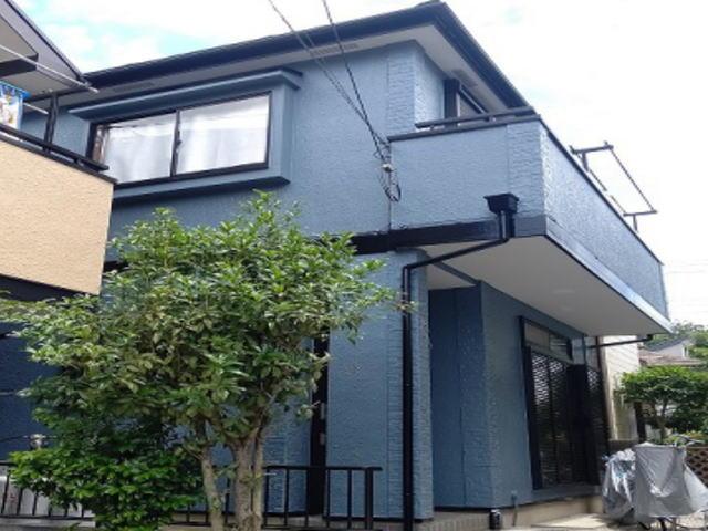 【施工実績561】外壁塗装・屋根重ね葺き:埼玉県入間市