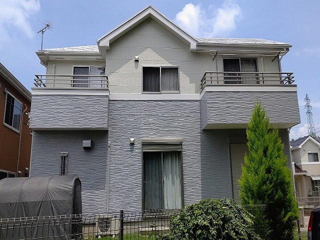 【施工実績565】外壁塗装・屋根塗装:群馬県前橋市