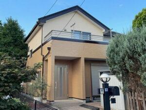 【施工実績569】外壁塗装・屋根重ね葺き:埼玉県加須市