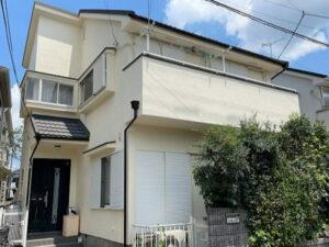 【施工実績571】外壁塗装・屋根重ね葺き:埼玉県越谷市