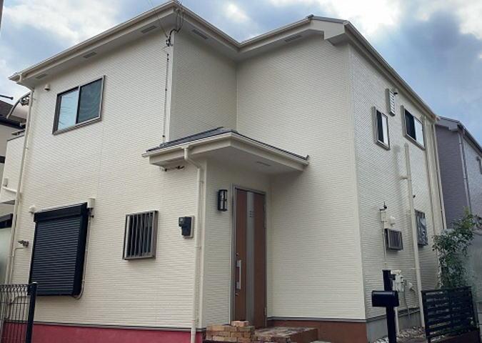 【施工実績573】外壁塗装・屋根塗装:埼玉県上尾市