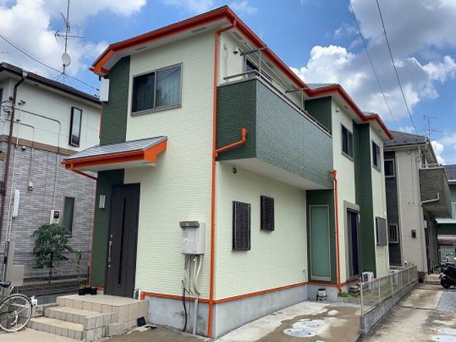 【施工実績580】外壁塗装・屋根塗装:埼玉県川口市