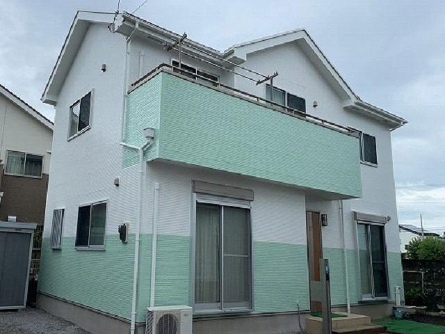 【施工実績581】外壁塗装・屋根塗装:群馬県伊勢崎市