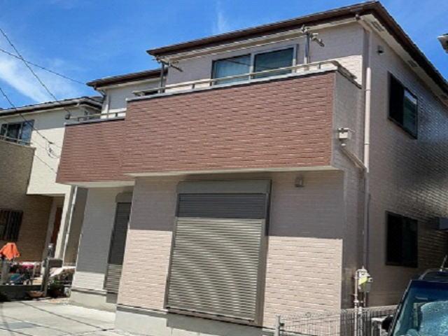 【施工実績584】外壁塗装・屋根塗装:埼玉県志木市