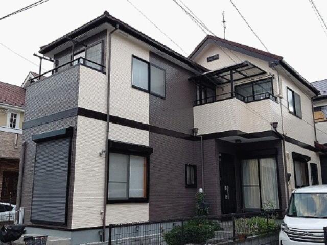 【施工実績586】外壁塗装・屋根重ね葺き:埼玉県さいたま市見沼区