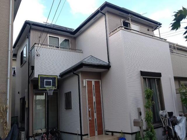 【施工実績587】外壁塗装・屋根塗装:埼玉県新座市