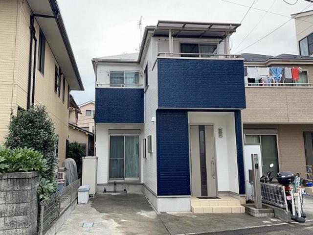 【施工実績589】外壁塗装・屋根塗装:埼玉県富士見市