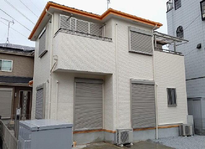 【施工実績592】外壁塗装・屋根塗装:埼玉県草加市