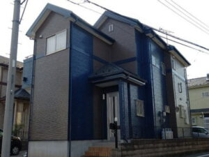 【施工実績593】外壁塗装・屋根重ね葺き:群馬県伊勢崎市