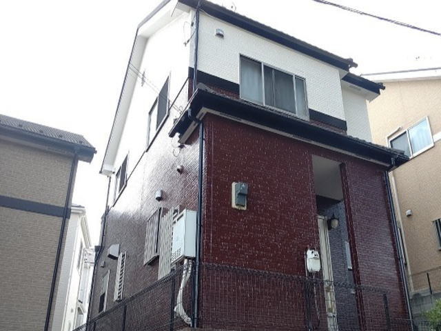 【施工実績596】外壁塗装・屋根重ね葺き:埼玉県富士見市