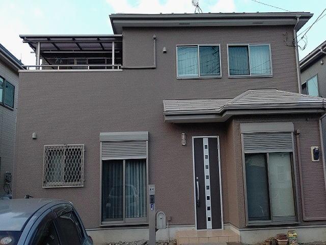 【施工実績599】外壁塗装・屋根塗装:埼玉県川越市