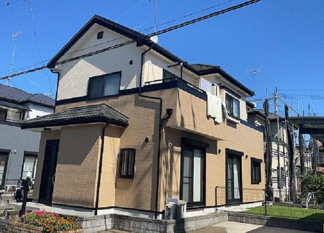 【施工実績600】外壁塗装・屋根重ね葺き:埼玉県幸手市