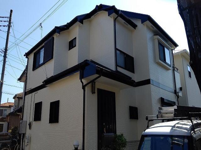 【施工実績601】外壁塗装・屋根塗装:埼玉県坂戸市