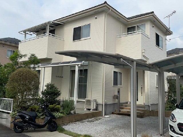 【施工実績602】外壁塗装・屋根重ね葺き:群馬県前橋市